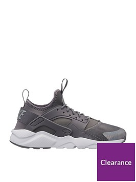 46b9964f12 Nike Air Huarache Run Ultra Junior Trainer - Grey | littlewoods.com