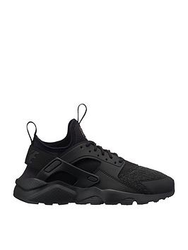 1a107cb8a7 Nike Air Huarache Run Ultra SE Junior Trainer - Black | littlewoods.com