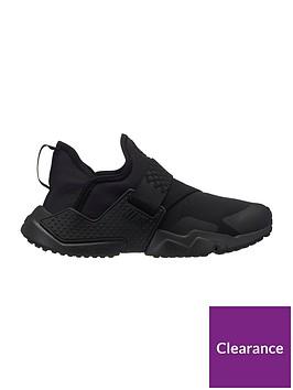 c21d76fcbc Nike Huarache Extreme Junior Trainer - Black | littlewoods.com