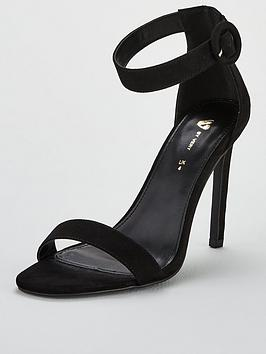 v-by-very-bellasima-high-minimal-sandal-black