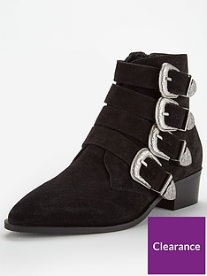 v-by-very-wide-fit-florence-suede-western-buckle-ankle-boot-black
