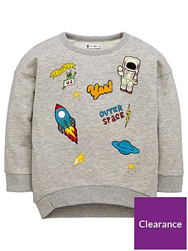 mini-v-by-very-boys-space-badged-sweat
