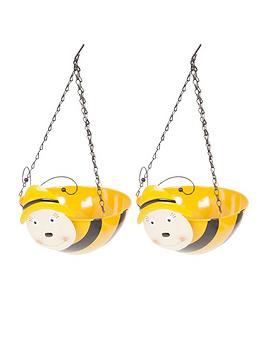 pair-of-wobblehead-bee-hanging-baskets-11-32cm