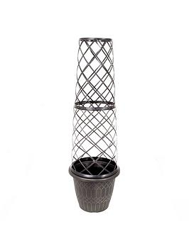 Compare retail prices of 1.3M Tower Pot And Trellis to get the best deal online