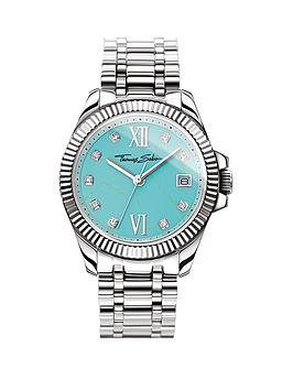 thomas-sabo-divine-turquoise-dial-stainless-steel-ladies-watch