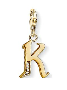 thomas-sabo-thomas-sabo-18k-gold-plate-sterling-silver-cubic-zirconia-set-letter-k-charm