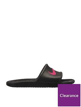 7196dff23af5f Nike Kawa Shower Junior Sandal - Black