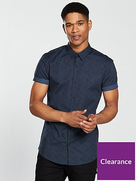 river-island-short-sleeve-paisley-poplin-shirt