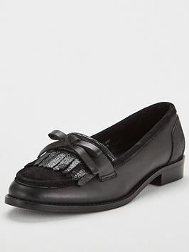 v-by-very-madras-flat-leather-loafer-black