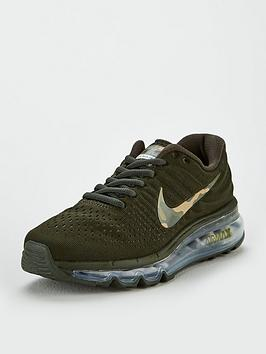nike-air-max-2017-junior-trainers-khaki