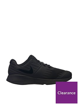 nike-star-runner-junior-trainers-black