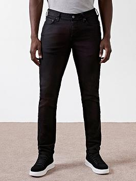 River Island River Island Black Slim Fit Dylan Jeans Picture