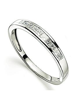 Love DIAMOND Love Diamond Platinum 25 Point Diamond Channel Set Eternity  ... Picture