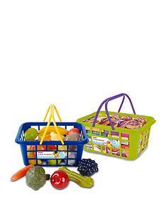 casdon-twin-grocery-basket-amp-shopping