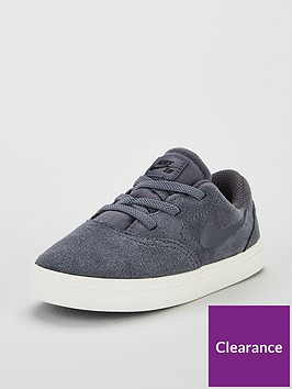 nike-sb-check-suede-infant-trainers-dark-grey