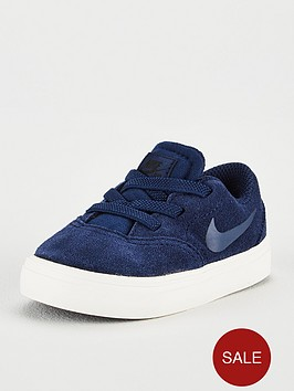 nike-sb-check-suede-infant-trainers-navy