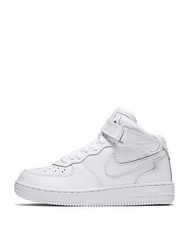 nike-force-1-mid-childrens-trainers-white
