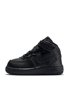 nike-infant-air-force-1-mid-trainers-black