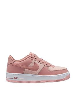 9623354ef8c0 Nike Air Force 1 LV8 Junior Trainers - Pink