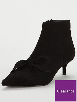 v-by-very-france-bow-point-kitten-heel-ankle-boot