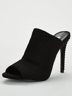 v-by-very-borough-knitted-high-mule-sandal-black