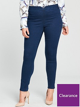 lost-ink-plus-jegging-with-elastic-back-mid-blue