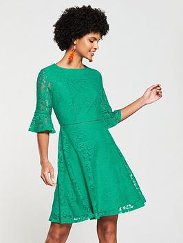 v-by-very-lace-ladder-jersey-trim-dress-applenbspgreen