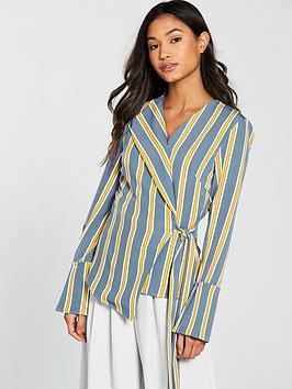 lavish-alice-asymmetric-satin-stripe-shirt