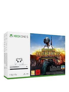 xbox-one-s-1tbnbspconsole-with-playerunknowns-battlegrounds-plus-optional-extra-controller-andor-12-months-xbox-live