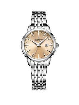 dreyfuss-co-dreyfussnbspamp-co-dlb0012525nbsp-blush-dial-stainless-steel-strap-ladies-watch