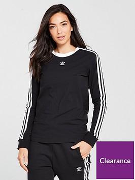 adidas-originals-3-stripes-long-sleeve-top-blacknbsp