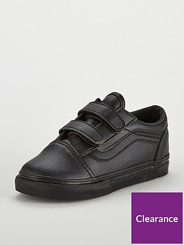 vans-old-skool-leather-infant-trainer-blacknbsp