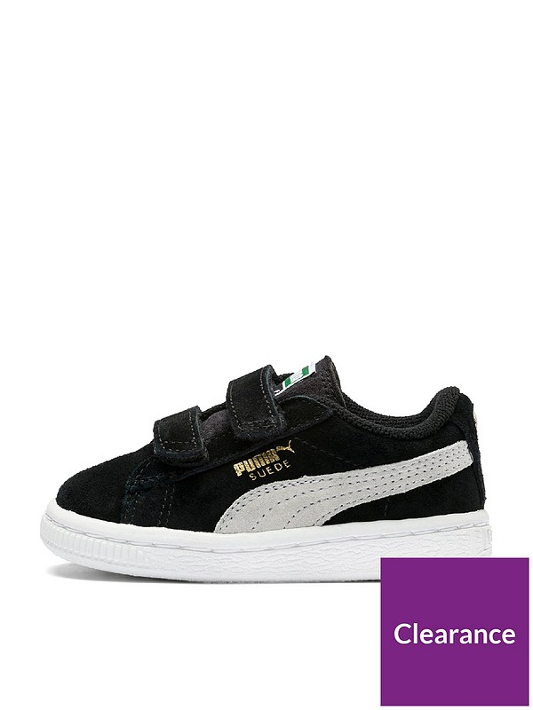 meet 5a018 6cb11 Puma Suede Classic 2 Straps Infant Trainer