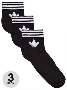 adidas-originals-trefoil-ankle-sock-3-pack-blacknbsp