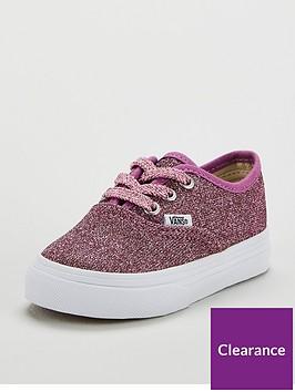 vans-authentic-glitter-infant-trainer-pinknbsp