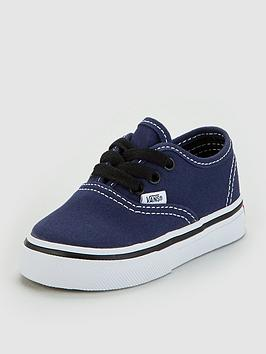 vans-authentic-infant-trainers-navy