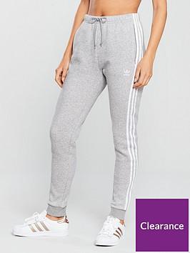 official photos 6e1df 3c0be adidas Originals Regular Cuffed Track Pant - Medium Grey Heather