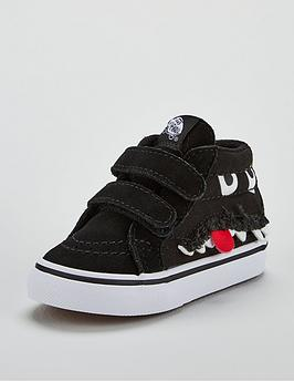 vans-sk8-mid-reissue-v-monster-infant-trainers-black