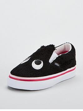 vans-slip-on-friend-monster-infant-trainers-black