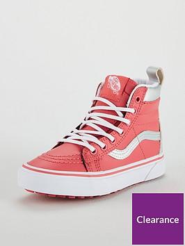 vans-sk8-hi-all-weather-junior-trainers-pink
