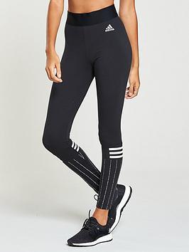 adidas-3-stripes-print-tights-blacknbsp