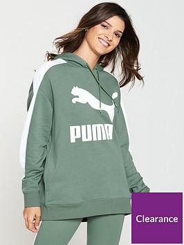 puma-classics-logo-t7-hoodienbsp--greennbsp