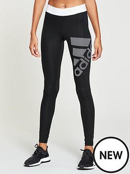 adidas-alphaskin-sport-logo-tight-blacknbsp