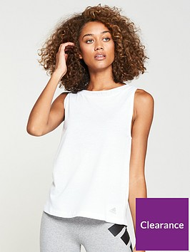 adidas-low-back-tank-whitenbsp