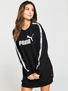 puma-tape-dress-black