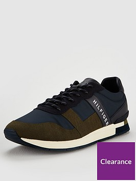 tommy-hilfiger-mixed-material-trainers-olive