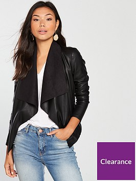 v-by-very-pu-waterfall-jacket-black