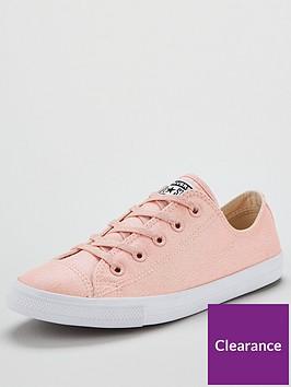01c561f101af Converse Chuck Taylor All Star Glitter Dainty Ox - Pink ...