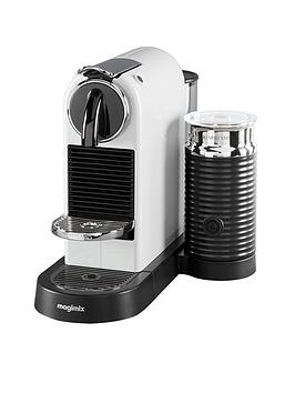 Nespresso   Citiz &Amp; Milk Coffee Machine By Magimix - White