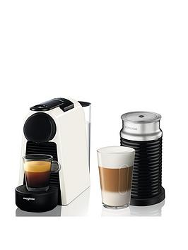 Nespresso Nespresso Essenza Mini Coffee Machine With Aeroccino By Magimix  ... Picture